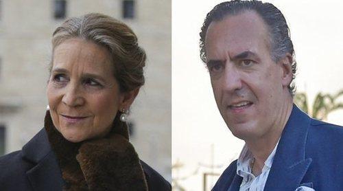 La Infanta Elena y Jaime de Marichalar, unidos para 'encauzar' a la rebelde Victoria Federica