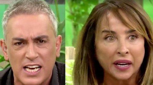 Kiko Hernández y María Patiño responden a las declaraciones de Chelo García Cortés: 'Vas con maldad'