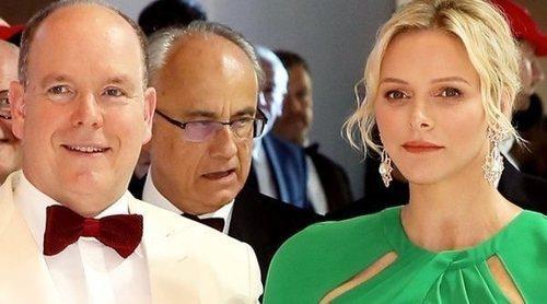 Charlene y Alberto de Mónaco, los grandes protagonistas del Baile de la Cruz Roja 2019