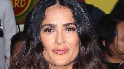 La reacción de Salma Hayek al ser elegida por Meghan Markle para su portada: 'Pensé que era una broma'