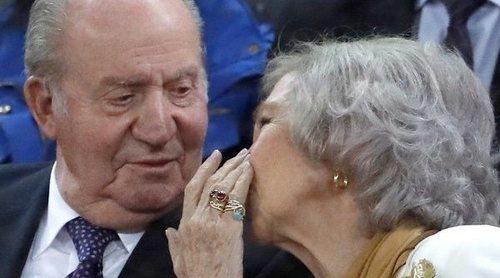 La Reina Sofía proclama su amor por el Rey Juan Carlos: 'Estoy mejor que nunca con él'