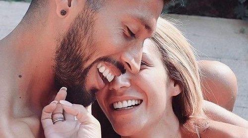 El tranquilo y relajante viaje sin niños de Tamara Gorro y Ezequiel Garay a la isla de Ibiza