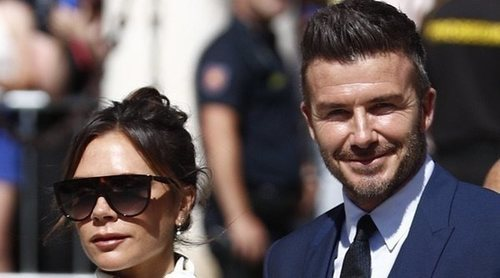 David y Victoria Beckham disfrutas de unas vacaciones familiares y rurales en Italia