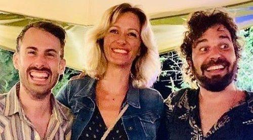 Susanna Griso presume de su sobrino Eric, uno de los componentes del grupo musical Arnau Griso