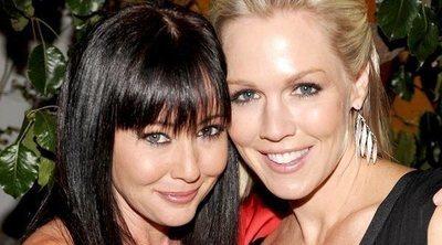 Shannen Doherty y Jennie Garth, más de dos décadas de rivalidad y amistad delante y detrás de las cámaras