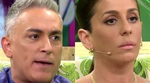 Kiko Hernández se cachondea de Anabel Pantoja por sus errores gramaticales y la cosa acaba en penitencia