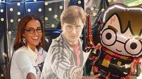 Paula Echevarría celebra por adelantado el cumpleaños de su hija con una fiesta temática de Harry Potter