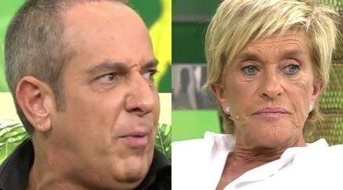 La acalorada discusión entre Víctor Sandoval y Chelo García Cortés en 'Sálvame': 'Estás fatal'
