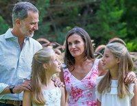 Los Reyes Felipe y Letizia y sus hijas Leonor y Sofía pasan sus vacaciones privadas en el Caribe
