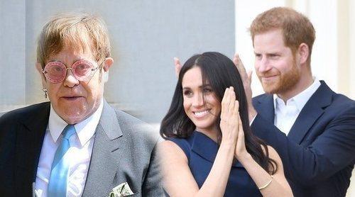 Elton John, el aliado del Príncipe Harry y Meghan Markle en sus polémicas vacaciones con Archie en Niza
