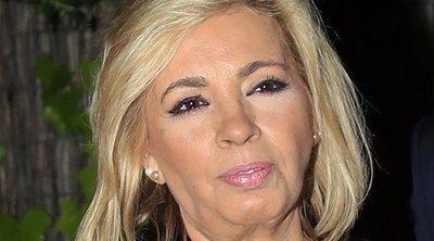 El hijo de Carmen Borrego tiene un accidente de moto junto a su novia