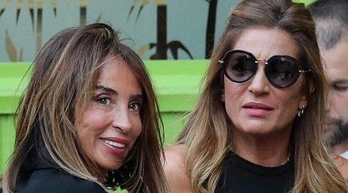 El plan de chicas de María Patiño con compañeras de 'Sálvame' para hablar de su sorprendente boda