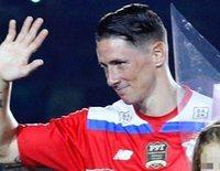 Fernando Torres dice adiós al fútbol muy emocionado y junto a su familia y amigos