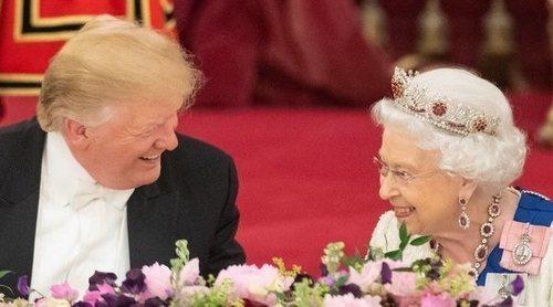 El comentario de la Reina Isabel de Inglaterra tras la visita de Donald Trump al Palacio de Buckingham