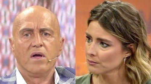 El tira y afloja de Sandra Barneda y Kiko Matamoros por la forma en que contó que podía tener cáncer