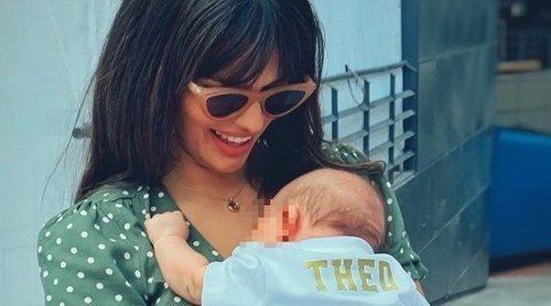 Sara Sálamo lleva por primera vez a su hijo Theo al Santiago Bernabéu para ver a Isco Alarcón