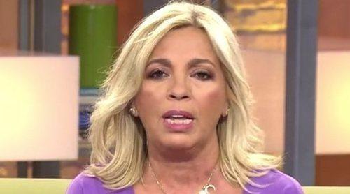 Carmen Borrego defiende a Edmundo Arrocet: 'Bigote jamás se ha aprovechado de mi madre'
