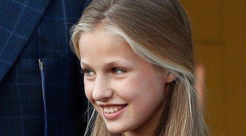 Así se enfrentaron la Princesa Leonor y la Infanta Sofía a su comparecencia tras visitar al Rey Juan Carlos en el hospital