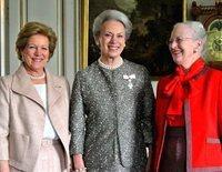 Así son y así se llevan la Reina Margarita de Dinamarca y sus hermanas, Benedicta de Dinamarca y Ana María de Grecia