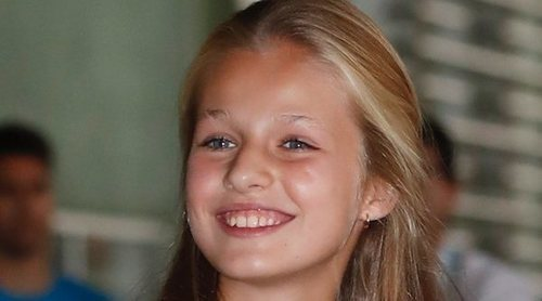 La Princesa Leonor sobre el Rey Juan Carlos: 'Está muy animado y con ganas de volver a casa'