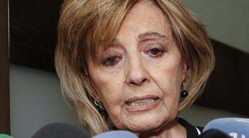 María Teresa Campos pierde los nervios ante las cámaras: '¡Iros ya!'