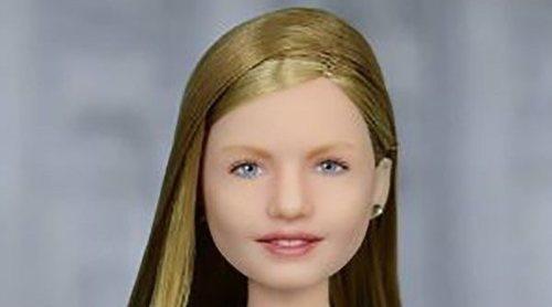 Así es la nueva muñeca Barbie inspirada en la Princesa Leonor