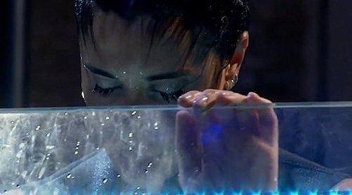 Pilar Rubio supera su récord de apnea y se lo dedica entre lágrimas a Sergio Ramos en 'El Hormiguero'