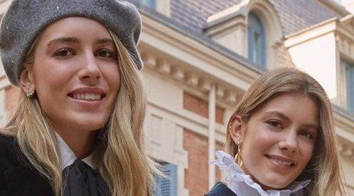 Daniela y Martina, las hijas mayores de Luis Figo, siguen los pasos de su madre Helen Svedin en la moda