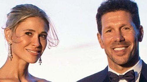 Carla Pereyra desvela el vestido que llevó en su boda con Diego Simeone