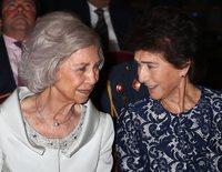 La Reina Sofía y Paloma O'Shea: una amistad nacida de su afición común por la música