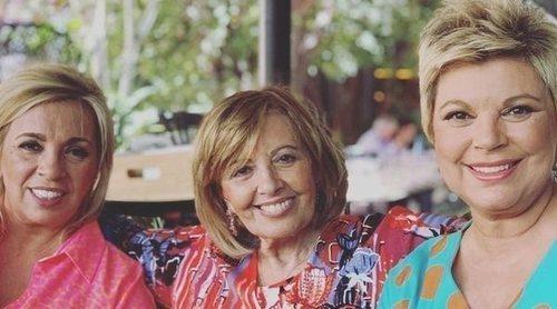 Terelu, María Teresa Campos y Carmen Borrego, invitadas estrella del nuevo programa de Toñi Moreno