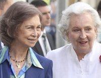 La visita de la Reina Sofía e Irene de Grecia para apoyar a la Infanta Pilar en sus momentos más duros
