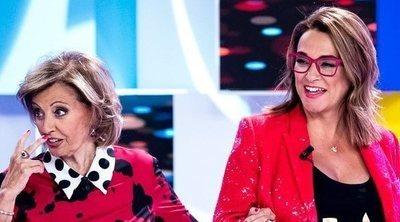 María Teresa Campos 'saca del armario' a Toñi Moreno: 'Yo no he estado en un armario en mi vida'