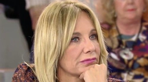 Belén Rodríguez abandona el plató de 'Sálvame' llorando tras defender a Rocío Carrasco y Fidel Albiac
