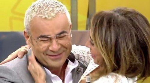 Jorge Javier Vázquez y María Patiño hacen las paces después de su discusión por la boda
