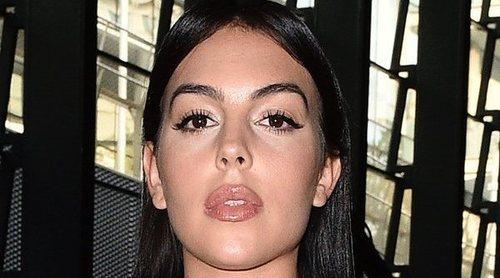 Georgina Rodríguez, una celebrity más en los desfiles de moda italianos