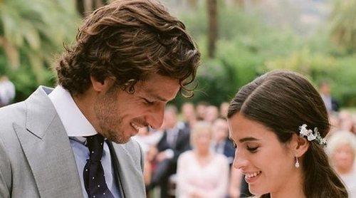 Feliciano López y Sandra Gago comparten fotos de su boda: estilo, elegancia y mucho amor