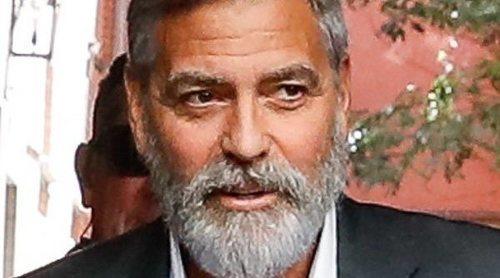 George Clooney causa un gran revuelo en el rodaje en Madrid de su nuevo spot publicitario