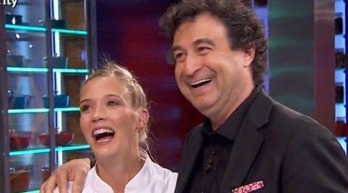 El juego de celos entre Patricia Montero y Álex Adrover en 'MasterChef Celebrity 4'