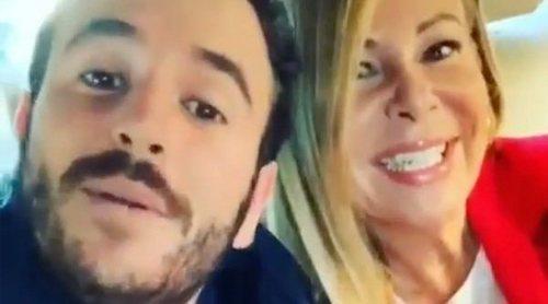 Ana Obregón acompaña a su hijo Álex Lequio a la tercera sesión de su tratamiento: 'Con una sonrisa'