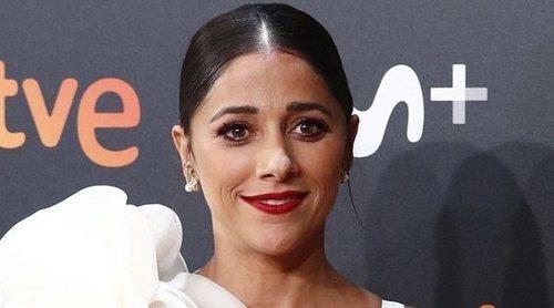 Mariam Hernández presume de embarazo en la clausura del Festival de San Sebastián 2019