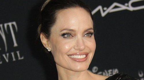 Angelina Jolie y Elle Fanning, las dos protagonistas de la premiere de 'Maléfica 2' en Los Ángeles