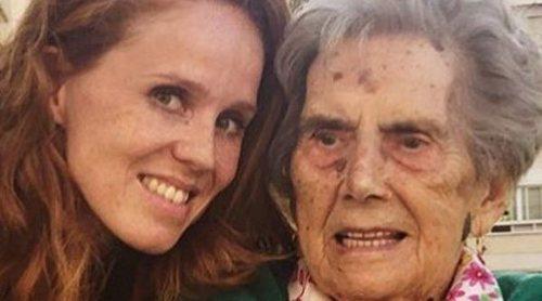 El precioso mensaje de despedida de María Castro a su abuela tras su muerte: 'Vivirás dentro de mi corazón'