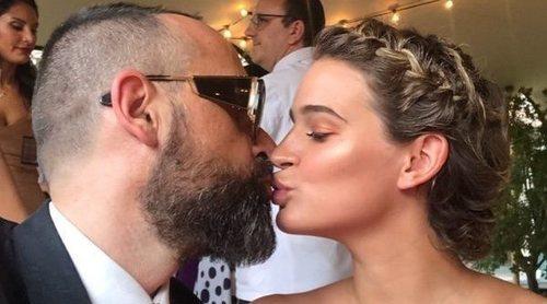 Risto Mejide y Laura Escanes publican la primera foto junto a su hija Roma