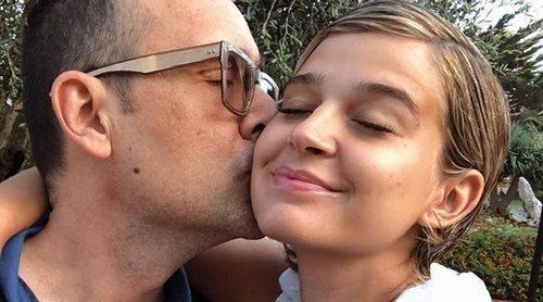 Risto Mejide muestra la parte más tierna de la nueva faceta como madre de Laura Escanes con Roma