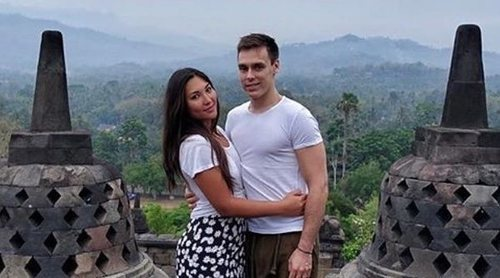 Louis Ducruet y Marie Chevallier disfrutan de una segunda luna de miel por Indonesia