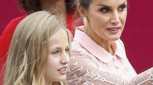 El plan cultural que la Reina Letizia, la Princesa Leonor y la Infanta Sofía compartieron con Cecilia Suárez y Ester Expósito