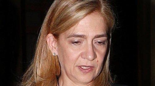 La Infanta Elena y la Infanta Cristina acuden juntas al funeral de Germán López Madrid