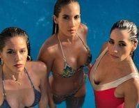 Así son y así se llevan India Martínez y sus hermanas, Laura y Dessy