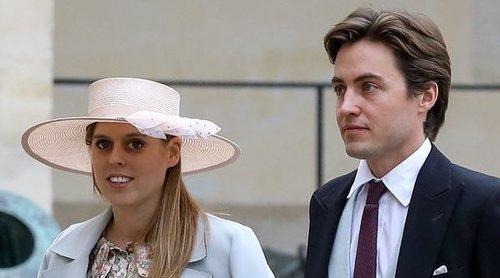 Beatriz de York y Edoardo Mapelli Mozzi, de boda royal con Felipe de Grecia y Nina Flohr